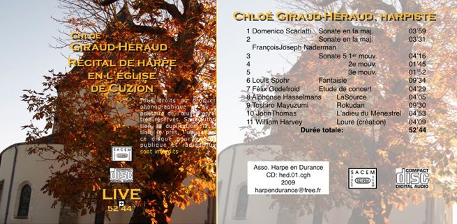 Jaquette CD N°3